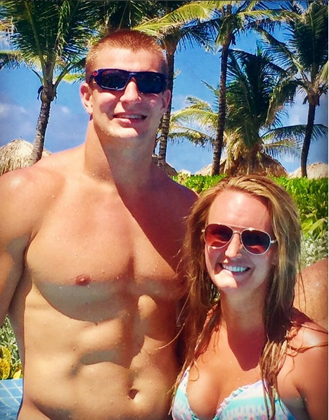 Gronk Takes the Party to Punta Cana