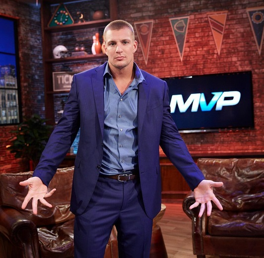 Gronk Getting Under the Covers with this MMA Superstar?
