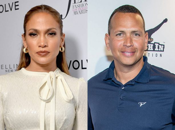 ARod & JLo at D'USSE Dinner in Miami