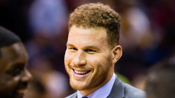 Blake Griffin and Baby Daughter Visit his Brother and Newborn
