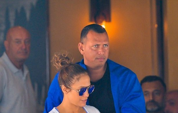 J-Lo and A-Rod Have a Very Casual Lunch Date