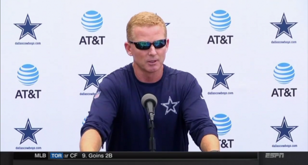 Jason Garrett Doesn't Believe his Players