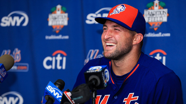 Tim Tebow Hit Another Homerun