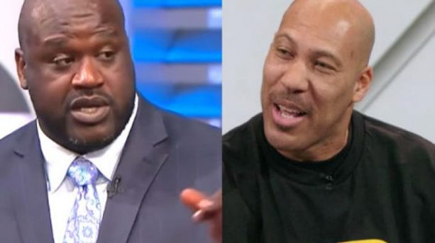 Shaq Gets at Lavar Ball after Being Challenged in a Game of Two on Two