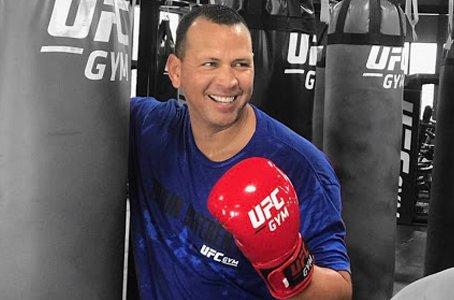 A-Rod Bought Himself a UFC Gym