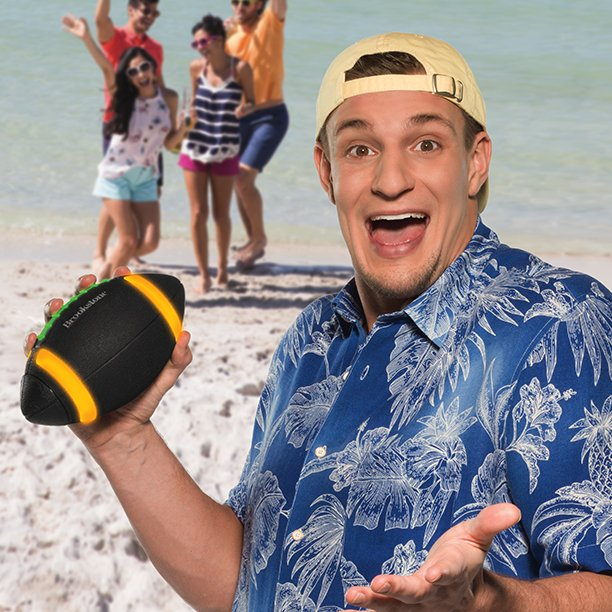 Gronk Speaker Ball Now Available at Brookstone