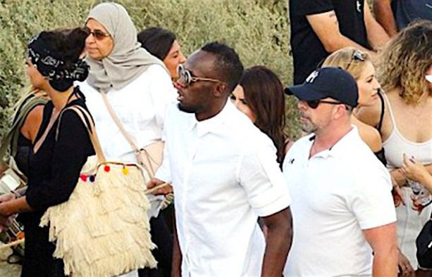Usain Bolt Is Having the Retirement Party of his Life in Greece