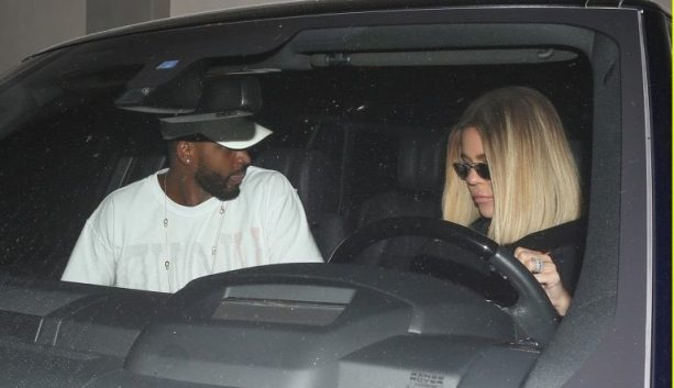 Khloé Kardashian is not Impressed as Tristan Thompson Serenades her in the Car