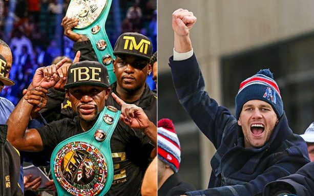Two Devils Grill Tom Brady Over His 'Friendship' With Floyd Mayweather
