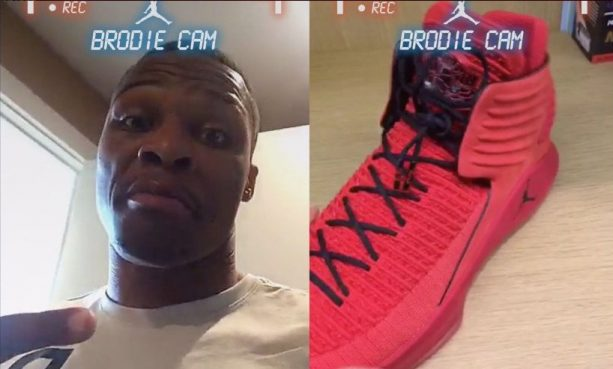 Russell Westbrook Giving us an Exclusive First Look at the NEW Jordan 32