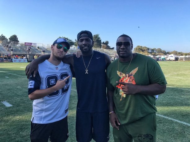 Hollywood Stars Support the Dallas Cowboys in California