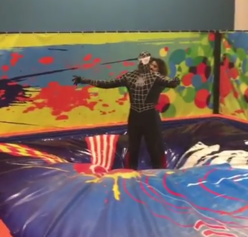OBJ Reveals Himself as the Black Spiderman