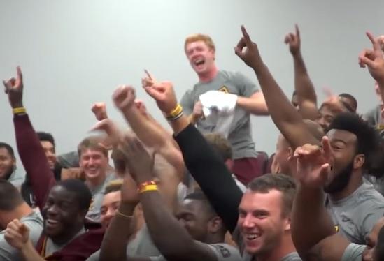 Minnesota Kicker Surprised With Full Scholarship