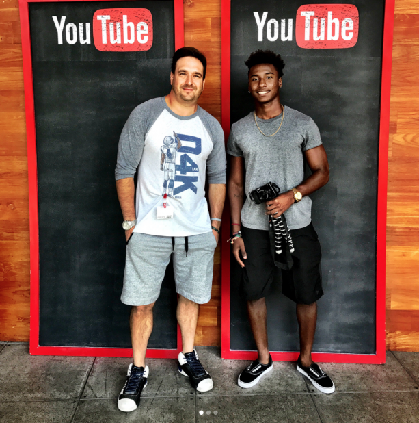 Former UCF Football Player Kicked Off For Being A YouTuber Visits YouTube