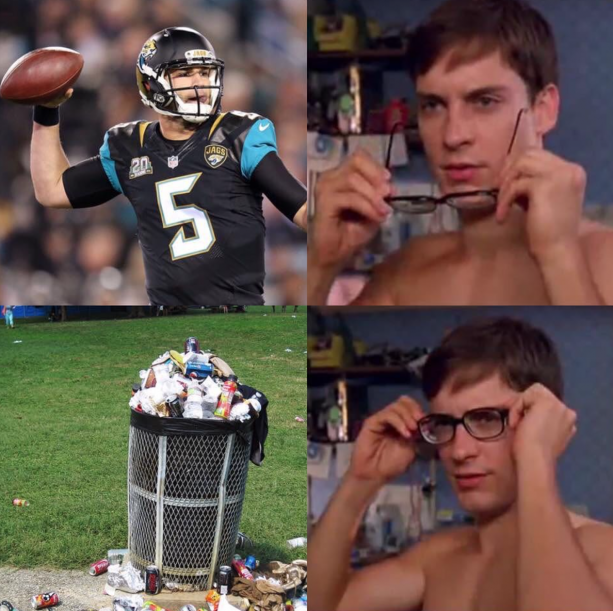 Jaguars Fans Done With Blake Bortles