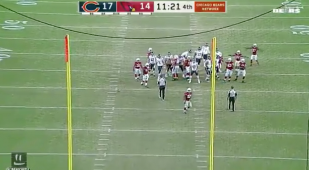 Roberto Aguayo Shanks His 1st Field Goal For The Bears