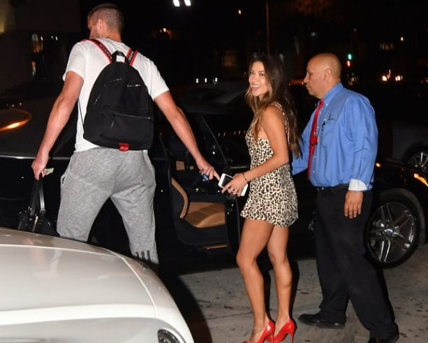 Arianny Celeste 'Just Hanging Out' in Chandler Parson's Shoes