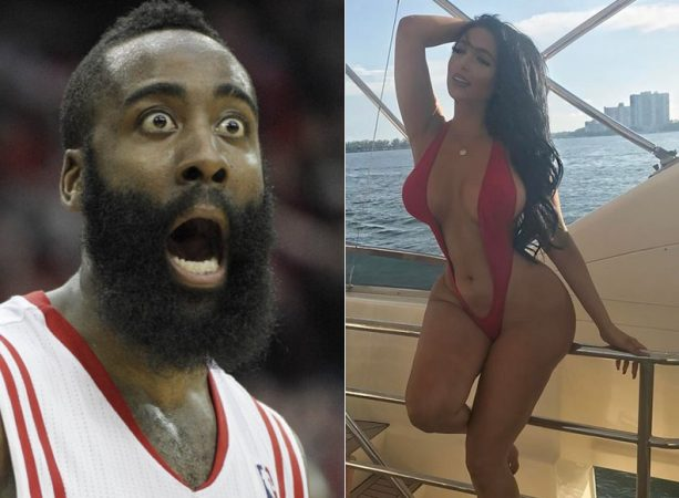 James Harden is Playing Ball with this Kardashian-a-like