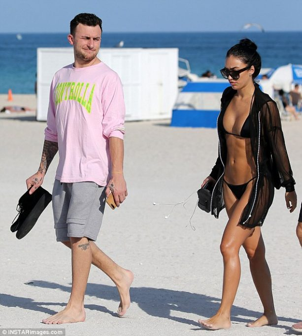 More Probs and Drama For Johnny Football and Fiance?