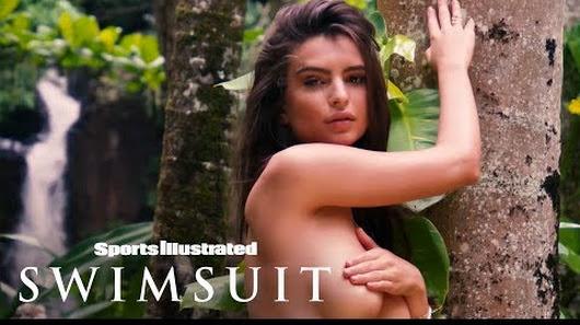 Emily Ratajkowski Shows Off Her Topless Dance Moves In Tropical Kauai