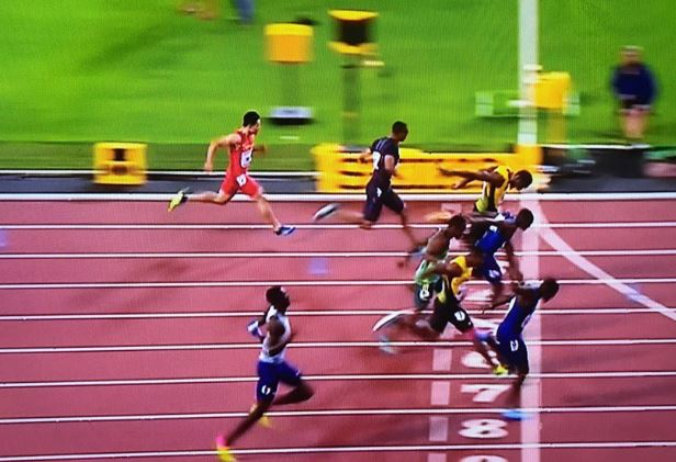 Usain Bolt Finished Third In His Final 100m Race