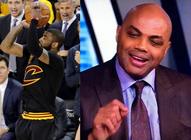 Charles Barkley Adds His Two Cents about Kyrie Wanting to Leave LeBron