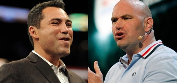 Dana White & Oscar De La Hoya Keep It Classy On Twitter