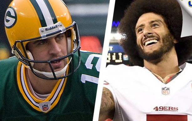 Aaron Rodgers Stands for Colin Kaepernick