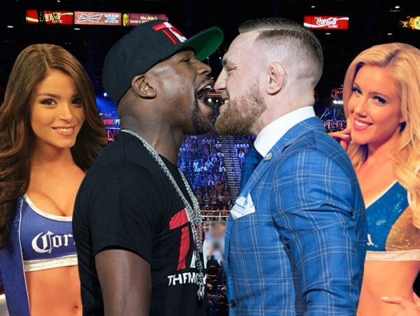 Meet the 4 Ladies who will be in the Ring for the Mayweather McGregor Fight