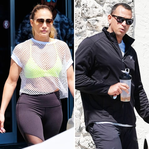 A-Rod and J-Lo Work Out Montage to Bon Jovi