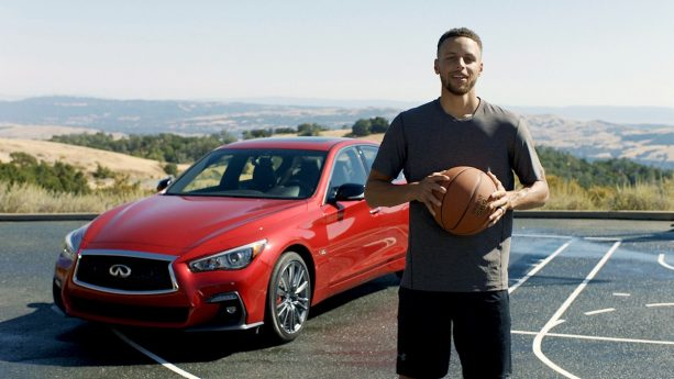 Stephen Curry's New Infiniti Spot