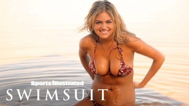 Kate Upton Shakes Her Hips Your Way, Gives You A Show
