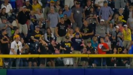 Pirates Fan Managed To Take A Homerun To The Junk