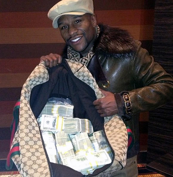 Floyd Mayweather Goes On $1.5m Spending Spree After Winning Conor McGregor Fight