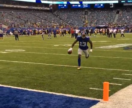 Odell Beckham Jr. Didn't Play Friday Night And Still Made The Best Catch Of The Preseason