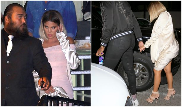 Tristan and Khloe Hit up the Strip Club; Run into Blac Chyna