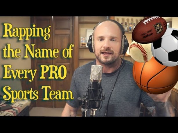 Rapping the Name of Every PRO Sports Team