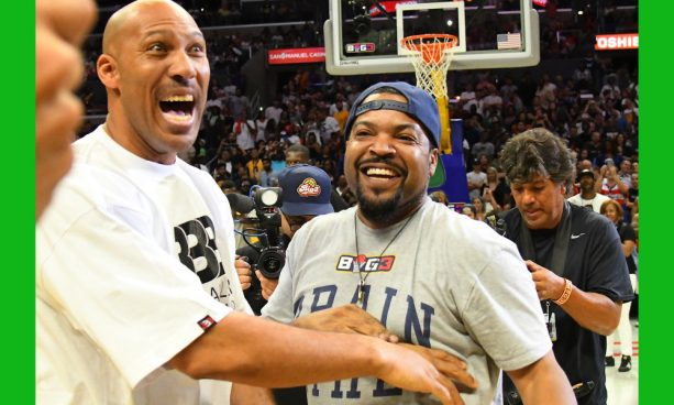 Ice Cube vs. LaVar Ball Shooting Contest Was Bricktastic