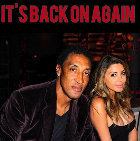 Scottie Pippen's Divorce Back on Track