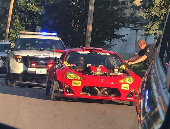 Pro Drifter Ryan Tuerck Hit The Streets In His Ferrari