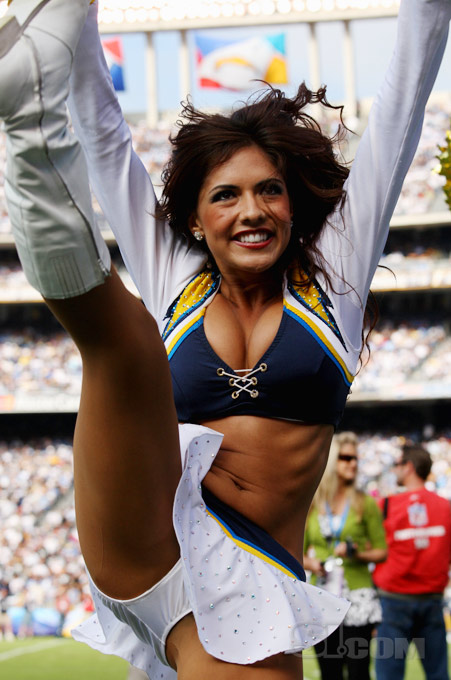 Chargers' Cheerleader Marlina Moreno Will Put Some Pep In Your Step