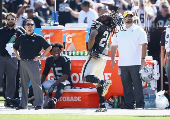 Jets Not Mad Marshawn Lynch Danced on Sidelines