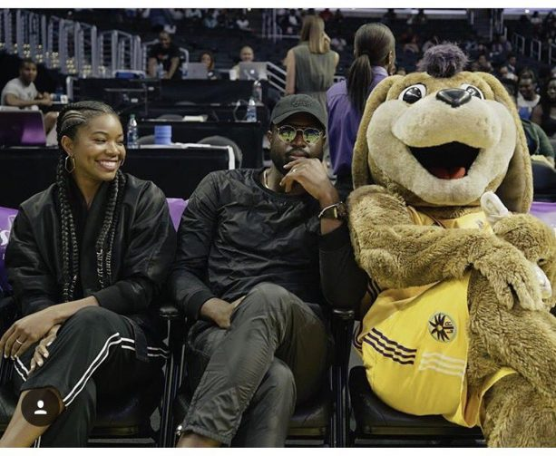 Gabrielle Union Gets Down With The LA Sparks