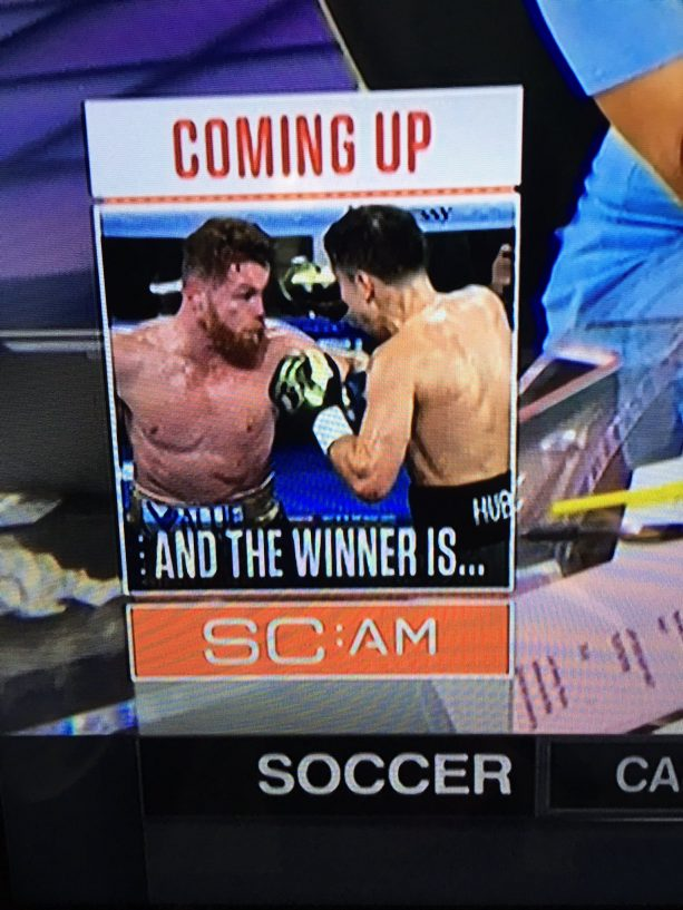 ESPN Puts It In Plain Site #CaneloGGG