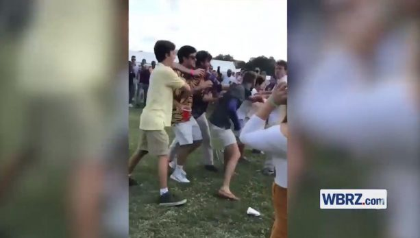 LSU Tailgate Fight went Viral Because that's What Tailgate Fights Do