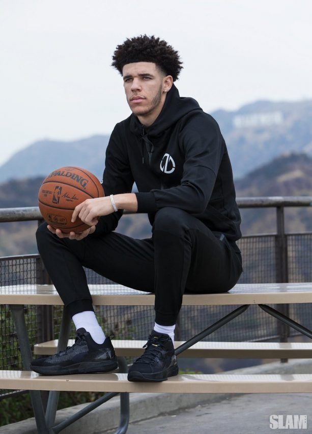 Lonzo Ball Keeps on Rapping about his Big Baller Brand Shoes