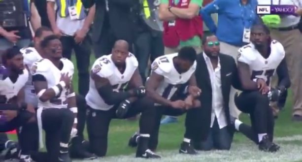 RAY LEWIS Crawls Out the Sunken Place to Take TWO Knees with RAVENS