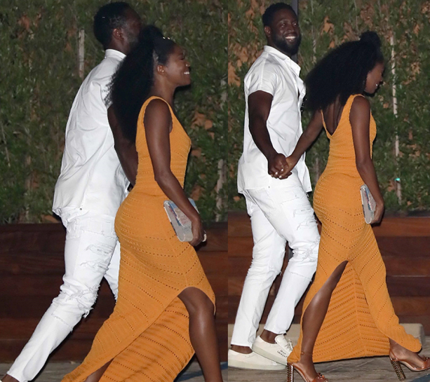 Dwyane Wade & Gabby Union Spotted Out, Why Is The Internet Going In?