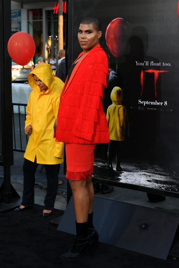 Magic's Son Exposes Himself at Stephen King's It Premiere