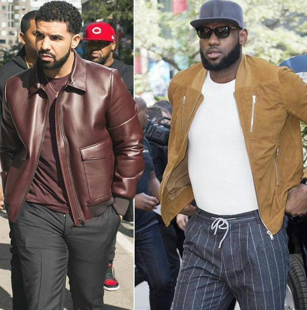 LeBron James & Drake Couple Up In Toronto